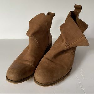 Ecote slouch ankle booties